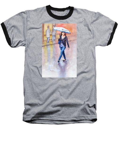 A Walk In The Rain Baseball T-Shirt