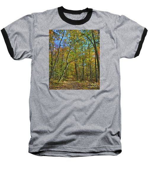 A Walk In The Woods Baseball T-Shirt