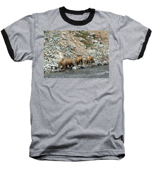 A Walk On The Wild Side Baseball T-Shirt