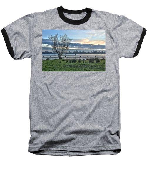 A Walk Through The Lake Baseball T-Shirt
