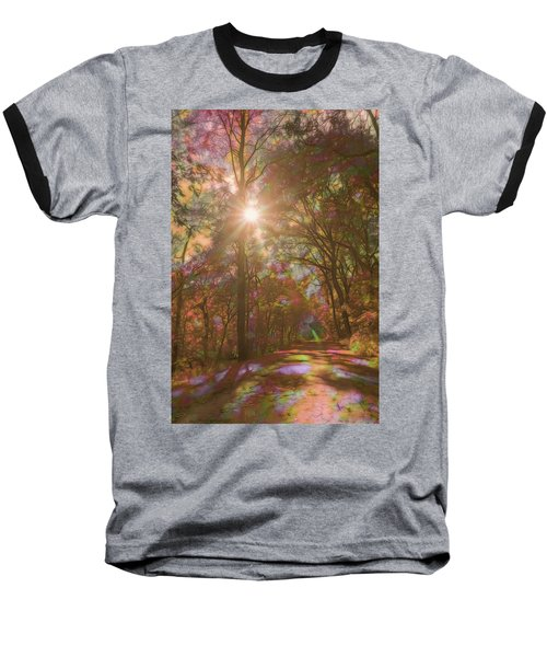 A Walk Through The Rainbow Forest Baseball T-Shirt