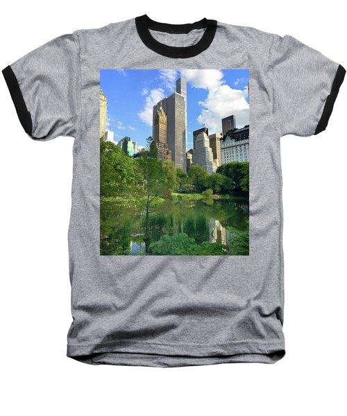 A Walk Thru Central Park Baseball T-Shirt