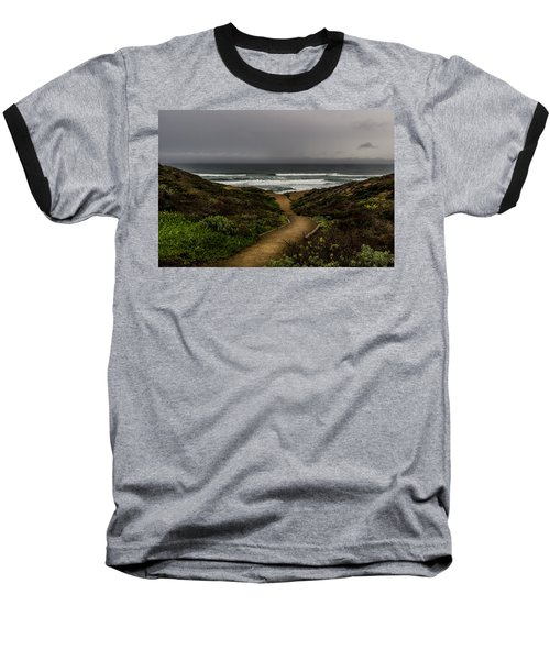 A Walk To The Beach Baseball T-Shirt