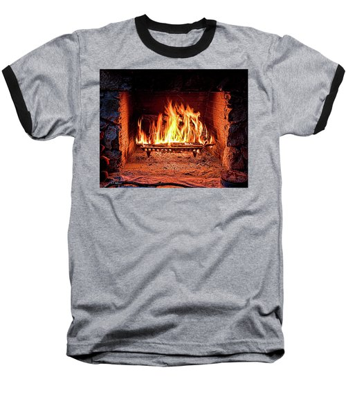 A Warm Hearth Baseball T-Shirt