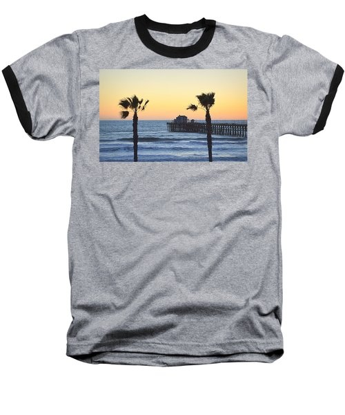 Baseball T-Shirt featuring the photograph A Warmer Place To Be by AJ Schibig