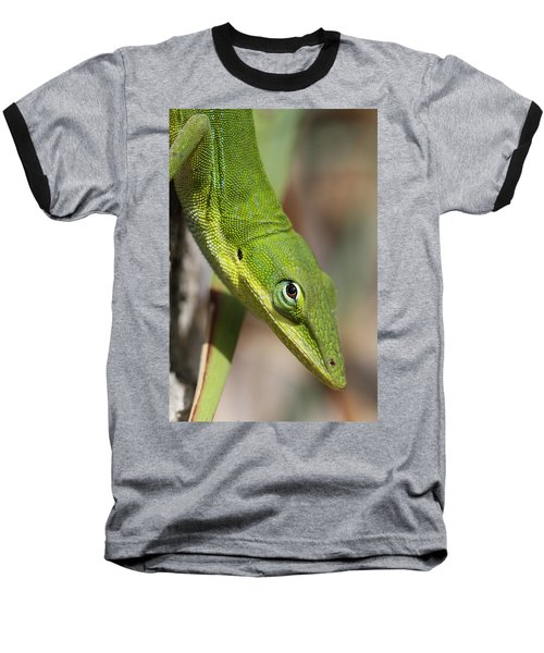 Baseball T-Shirt featuring the photograph A Watchful Eye by Doris Potter