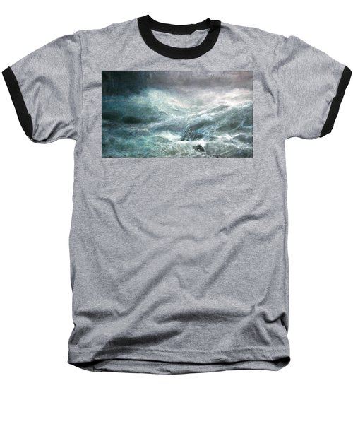 a wave my way by Jarko Baseball T-Shirt