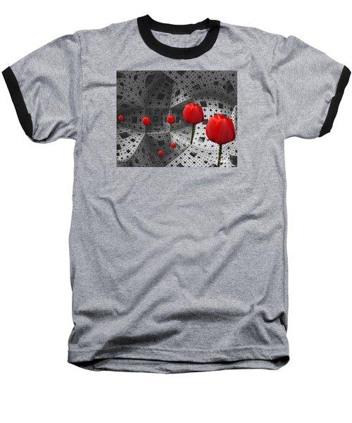 a way in Menger's sponge Baseball T-Shirt
