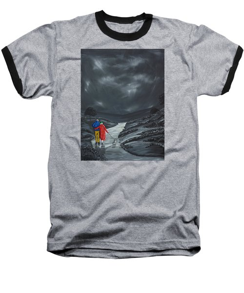 A Wee Bijou Strollette Baseball T-Shirt