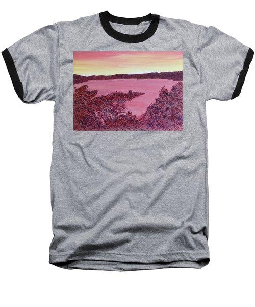 Baseball T-Shirt featuring the painting A Wee Bit O Heaven  by Joel Deutsch