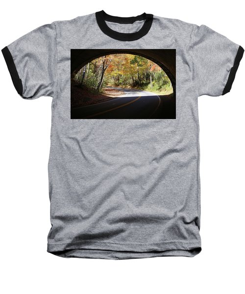 A Well Rounded Perspective Baseball T-Shirt by Lamarre Labadie