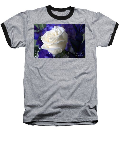 A White Rose Baseball T-Shirt