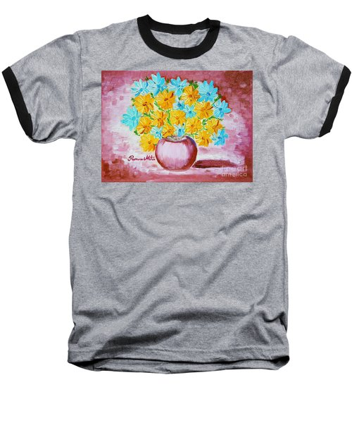 A Whole Bunch Of Daisies Baseball T-Shirt