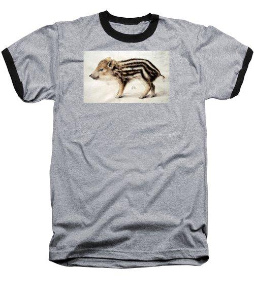 A Wild Boar Piglet Baseball T-Shirt