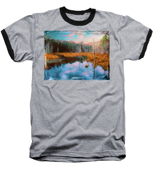 A Wilderness Marsh Baseball T-Shirt