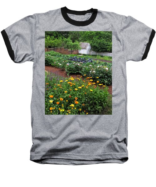 A Williamsburg Garden Baseball T-Shirt