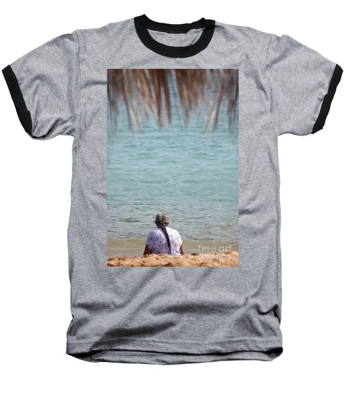 A Window With A View Baseball T-Shirt