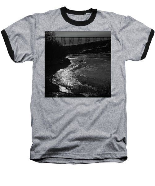 A Winter River Baseball T-Shirt