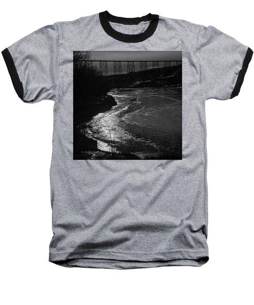 A Winter River Baseball T-Shirt
