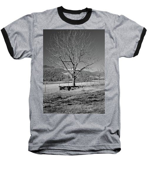 A Wintery Stand Baseball T-Shirt