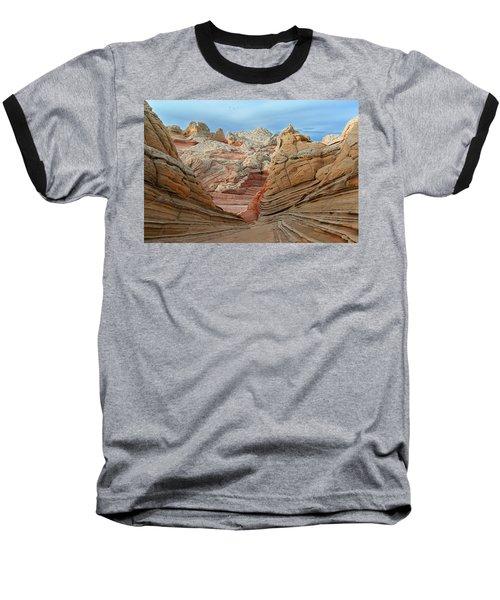A World In Turmoil Baseball T-Shirt