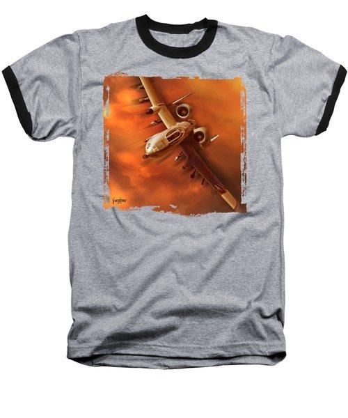 A10 Warthog Baseball T-Shirt