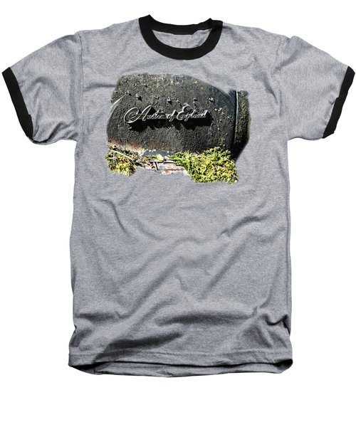 A40 Somerset Car Badge Baseball T-Shirt by Nick Kloepping