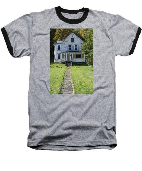 Abandoned Home, Lyndon, Vt. Baseball T-Shirt
