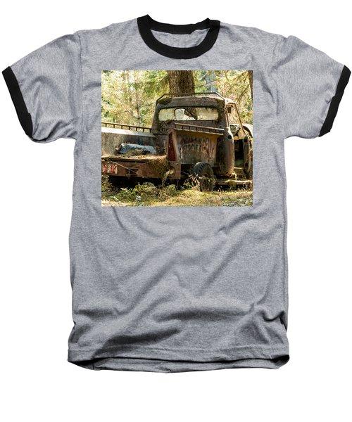 Abandoned And Abused Baseball T-Shirt by E Faithe Lester