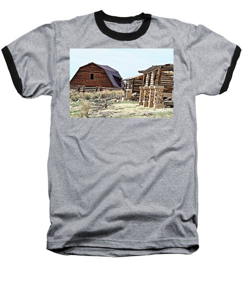 Abandoned Barn Baseball T-Shirt