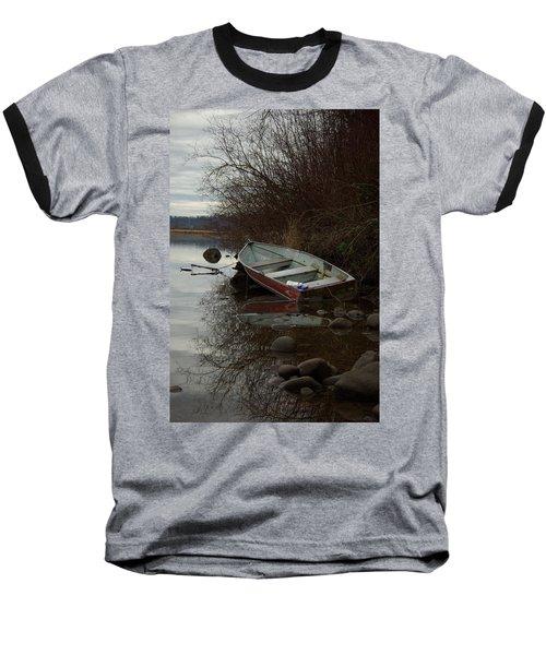 Abandoned Boat Baseball T-Shirt
