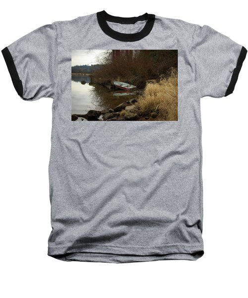 Abandoned Boat II Baseball T-Shirt