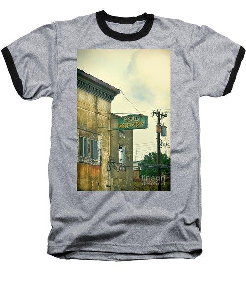 Baseball T-Shirt featuring the photograph Abandoned Building by Jill Battaglia