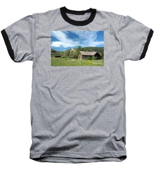 Abandoned Cabin Baseball T-Shirt