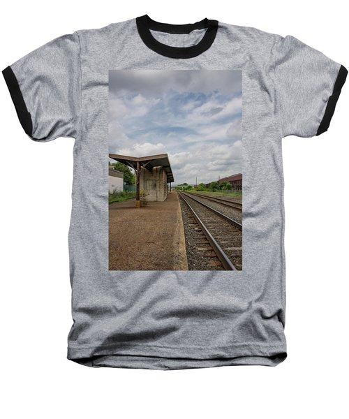 Abandoned Depot Baseball T-Shirt
