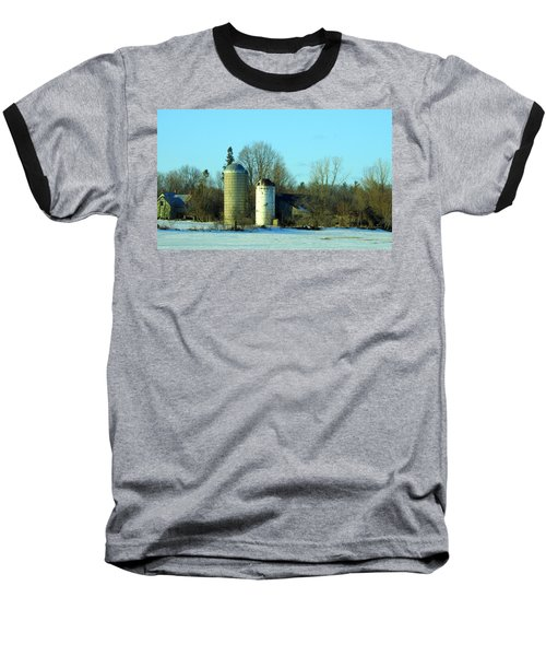 Abandoned Farm Baseball T-Shirt by Betty-Anne McDonald