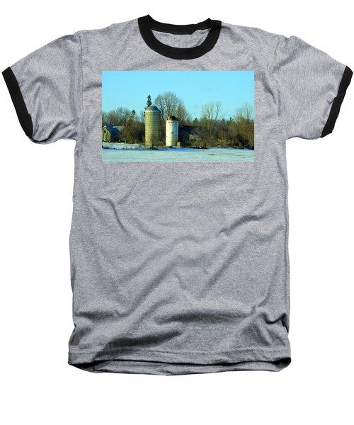 Abandoned Farm Baseball T-Shirt