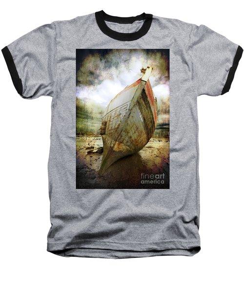 Abandoned Fishing Boat Baseball T-Shirt