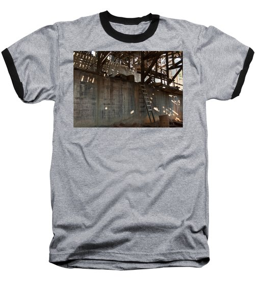 Baseball T-Shirt featuring the photograph Abandoned by Fran Riley