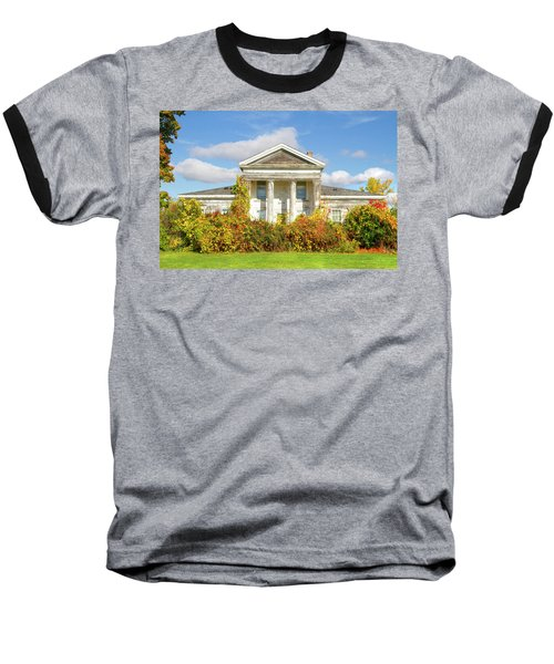 Abandoned Greek Revival Baseball T-Shirt