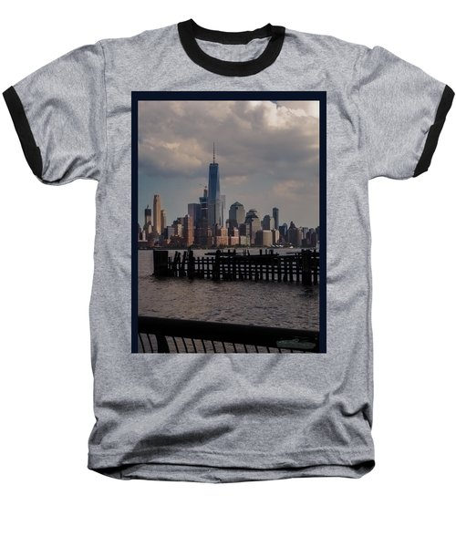 Abandoned Hoboken Pier Baseball T-Shirt