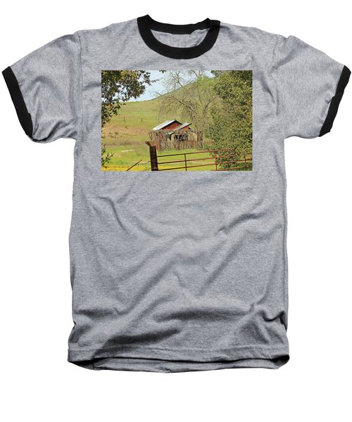 Baseball T-Shirt featuring the photograph Abandoned Homestead by Art Block Collections