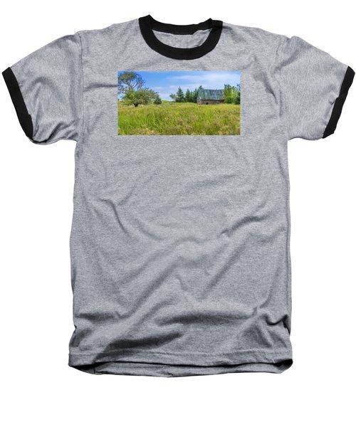Abandoned House In Feltzen South Baseball T-Shirt by Ken Morris