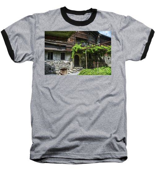 Abandoned House Baseball T-Shirt