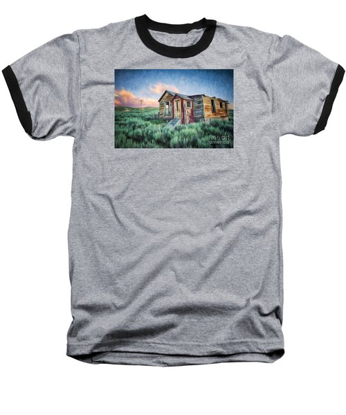Abandoned In America Baseball T-Shirt