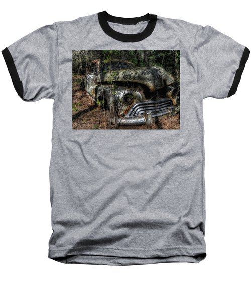 Baseball T-Shirt featuring the photograph Abandoned In Helvetia by Trey Foerster
