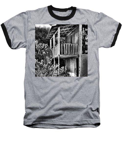 Abandoned, Kalamaki, Zakynthos Baseball T-Shirt by John Edwards