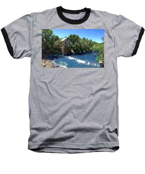 Abandoned Mill At Cedar Point Baseball T-Shirt