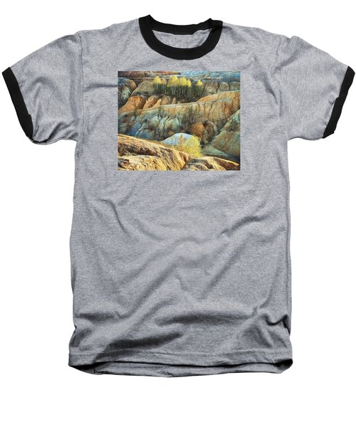 Baseball T-Shirt featuring the photograph Abandoned Quarry 2 by Vladimir Kholostykh
