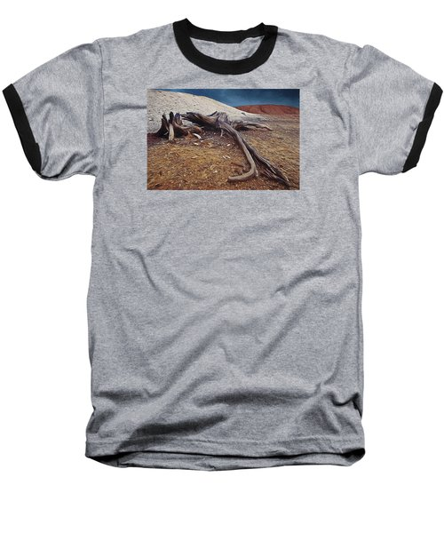 Baseball T-Shirt featuring the photograph Abandoned Quarry by Vladimir Kholostykh
